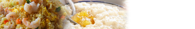 Pre-cooked rice and grains