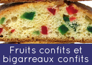 Candied fruit & candied cherries