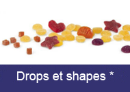 Drops et shapes