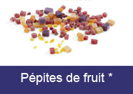 Pépites de fruit
